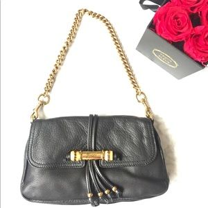 AuthenticGucci Leather Bamboo Bag